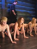 Four Girl IntakeSado-Masochists Slave Testing