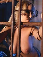 Mandy tortures tender nipples on sexy victim