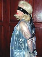Plastic mummy girl