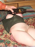 Bound slave takes severe nipple pain