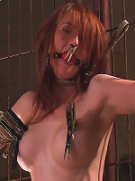 Hot Redheaded Prisoner Made to endure multiple orgasms