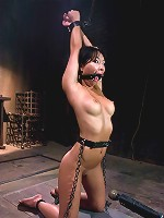 Asa Akira: First Time Fucked in Bondage